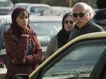 علیرضا داوودنژاد و ترلان پروانه در پشت صحنه فیلم «فراری»