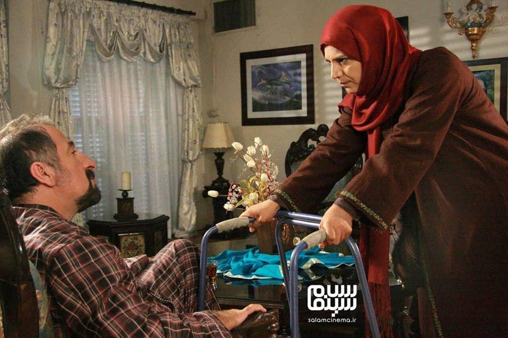 مهران رجبی و فرشته سرابندی در سریال «سی امین روز»