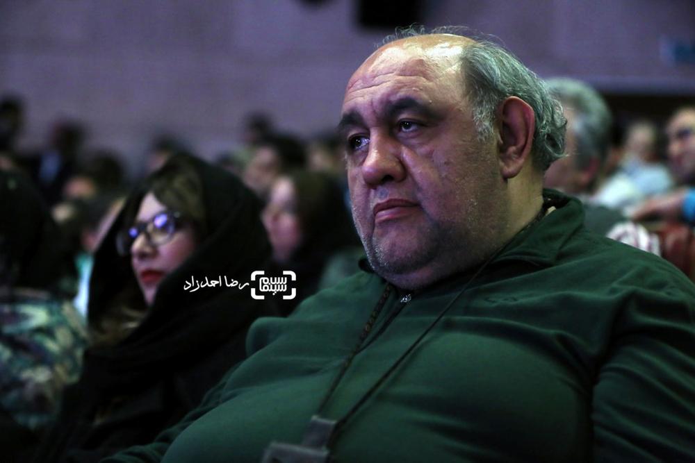 لوون هفتوان بازیگر فیلم «کوپال» در افتتاحیه سی و پنجمین جشنواره فیلم فجر