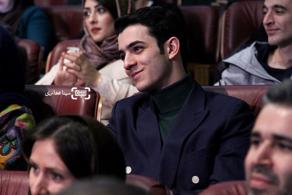 علی شادمان در افتتاحیه سی و پنجمین جشنواره فیلم فجر