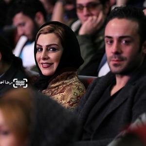 ماه چهره خلیلی بازیگر فیلم «اشنوگل» در افتتاحیه سی و پنجمین جشنواره فیلم فجر