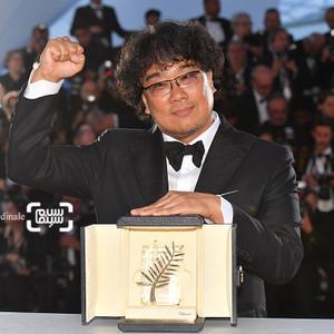 بونگ جون هو برنده جایزه بهترین فیلم برای  فیلم سینمایی «انگل» (Parasite) از جشنواره کن 2019