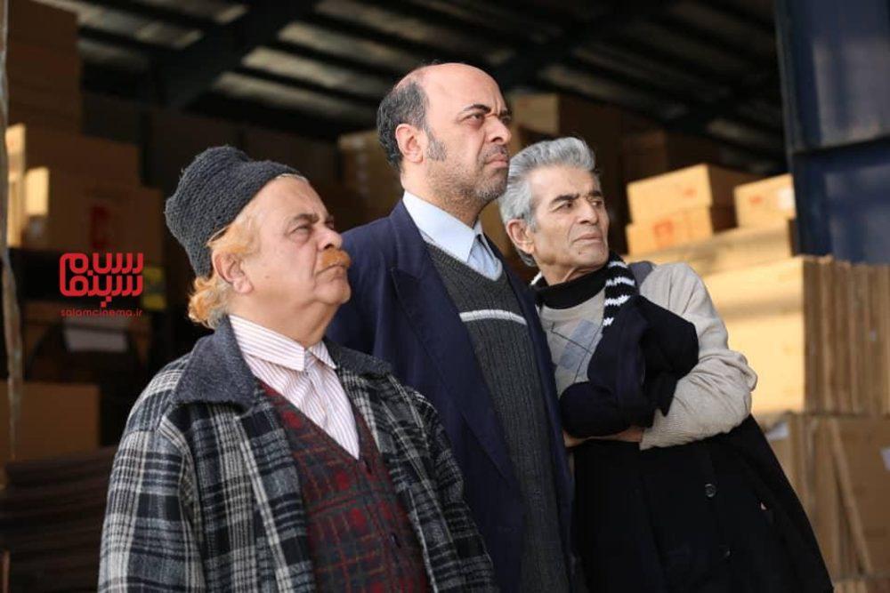 محمد شیری، آرش نوذری و احمدرضا اسعدی در سریال تلویزیونی «دنیای گمشده»
