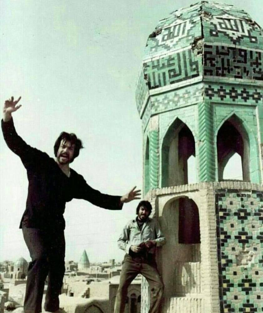 شهروز رامتین و ایرج قادری در فیلم «میعادگاه خشم»