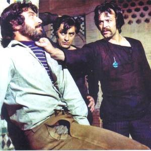 محمدعلی فردین، شهروز رامتین و ایرج قادری در فیلم «میعادگاه خشم»