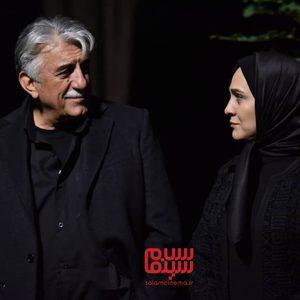 رضا کیانیان و رویا نونهالی در سریال «عروس تاریکی»