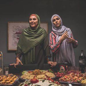لاله اسکندری و شیوا ابراهیمی در سریال «خانواده دکتر ماهان»