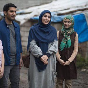 ارسطو خوش رزم، خاطره حاتمی، کیمیا حسینی و عرفان برزین در سریال «خانواده دکتر ماهان»