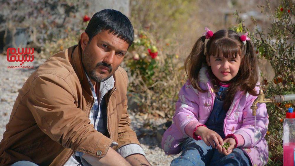 حامد بهداد و نیوشا علیپور در فیلم «قصر شیرین»