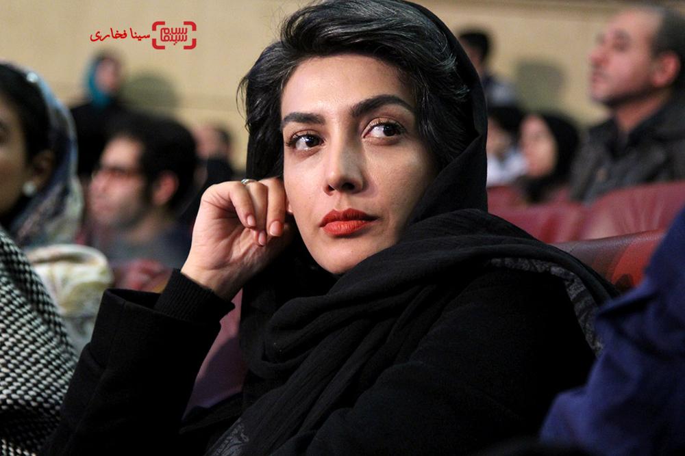 لیلا زارع بازیگر «خانه دیگری» در افتتاحیه سی و پنجمین جشنواره فیلم فجر
