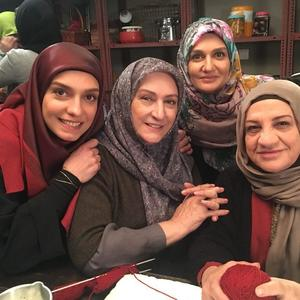 الیکا عبدالرزاقی، مریم امیرجلالی، فوژان عارف پور و ناهید مسلمی در سریال «هیات مدیره»