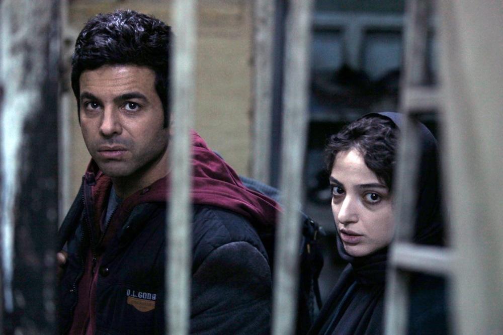 منصور شهبازی و ندا جبرائیلی در فیلم «کارت پرواز»