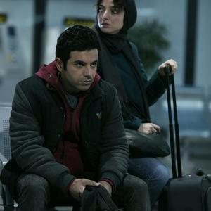 منصور شهبازی و ندا جبرائیلی در فیلم سینمایی «کارت پرواز»