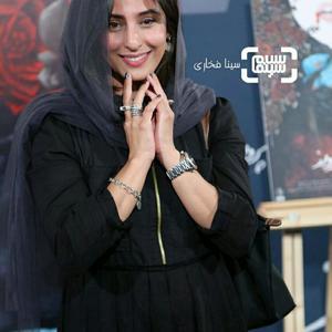 آناهیتا افشار در اکران خصوصی فیلم «کارت پرواز» در سینما چارسو