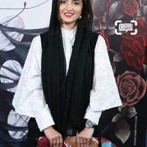 گلاره عباسی در اکران خصوصی فیلم «کارت پرواز» در سینما چارسو