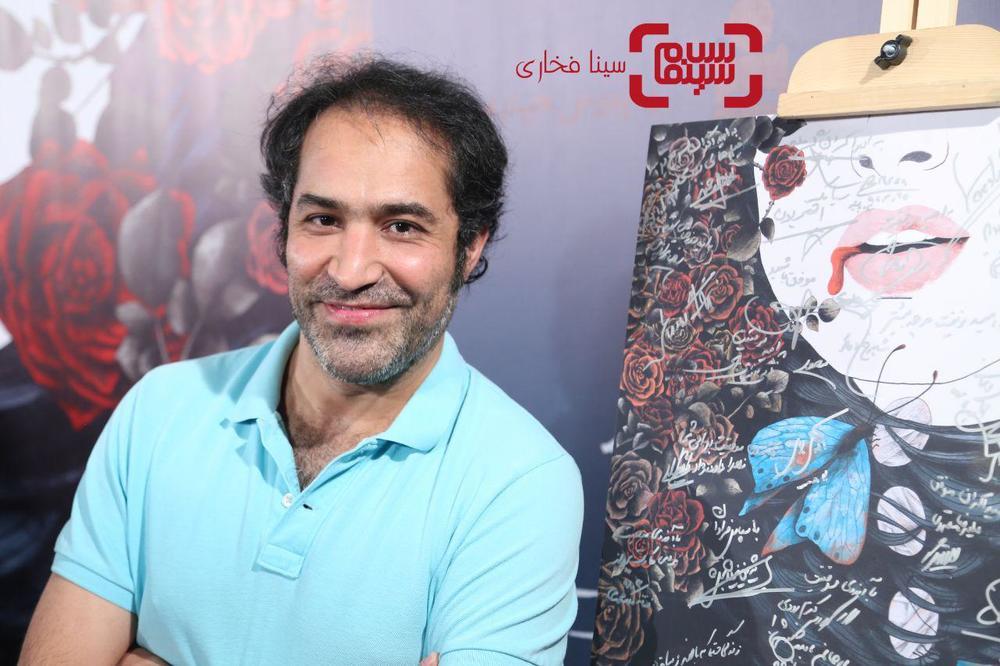 افشین هاشمی در اکران خصوصی فیلم «کارت پرواز» در سینما چارسو