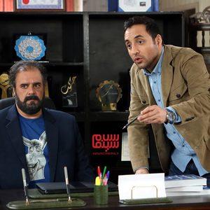 امیرحسین رستمی و هومن برق نورد در سریال «آچمز»