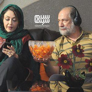 آتیلا پسیانی و شقایق فراهانی در فیلم «گروه آلما»