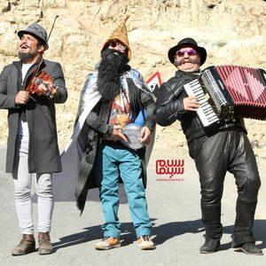 میرطاهر مظلومی، علی صادقی و یوسف تیموری در فیلم «ایکس لارج»