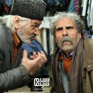 اکبر اصفهانی و رضا ناجی در فیلم «ایکس لارج»