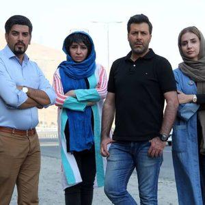 شبنم قلی خانی، مجید واشقانی، محمد شماعیان و مه لقا باقری بازیگران فیلم «بزرگراه»