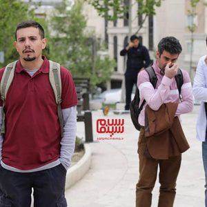 امیر کاظمی، هوتن شکیبا و امیرحسین رستمی در سریال «فوق لیسانسه ها»