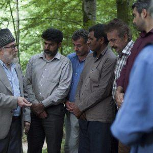 محمدرضا رهبری و منوچهر آذر در فیلم «سرزمین آبی»