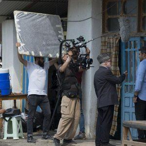 پشت صحنه فیلم «سرزمین آبی»