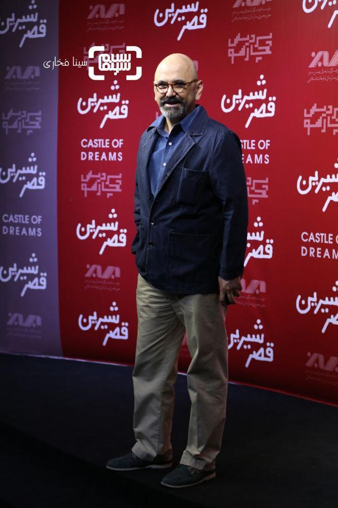 حبیب رضایی در اکران خصوصی فیلم «قصر شیرین»