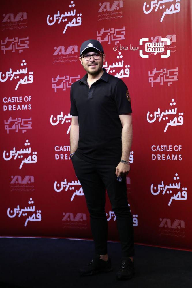 کوروش تهامی در اکران خصوصی فیلم سینمایی «قصر شیرین»
