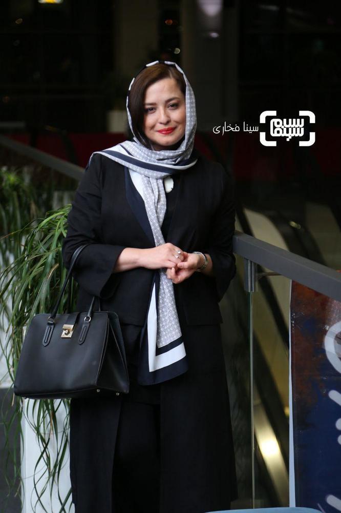 مهراوه شریفی نیا در اکران خصوصی فیلم سینمایی «قصر شیرین»