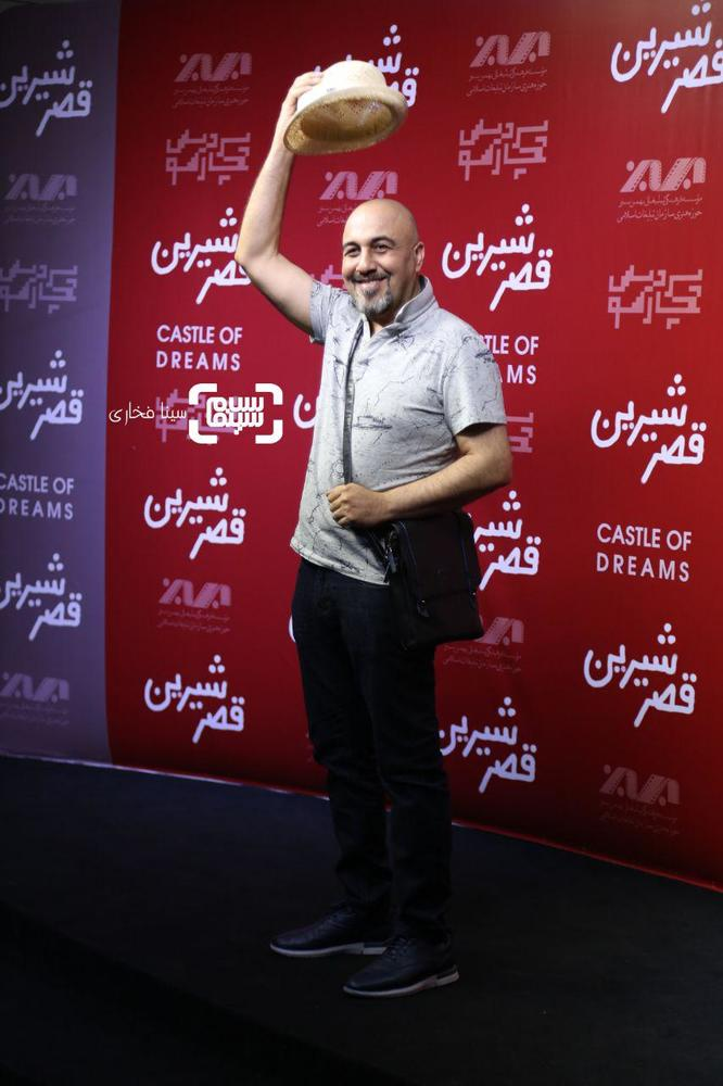 رضا عطاران در اکران خصوصی فیلم «قصر شیرین»