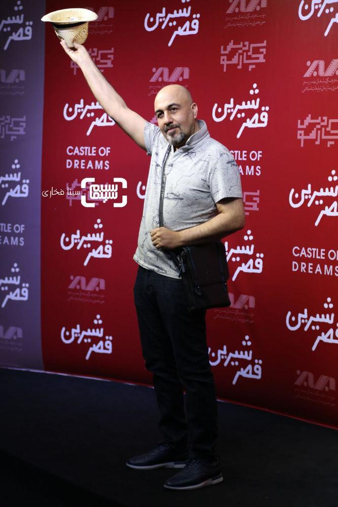 رضا عطاران در اکران خصوصی فیلم سینمایی «قصر شیرین»