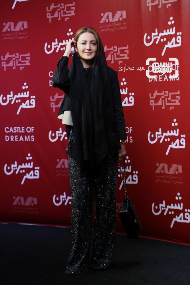 شیلا خداداد در اکران خصوصی فیلم سینمایی «قصر شیرین»