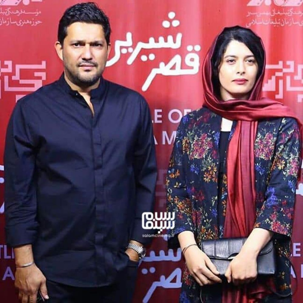 حامد بهداد و ژیلا شاهی در اکران خصوصی فیلم سینمایی «قصر شیرین»