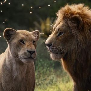 دونالد گلاور و بیانسه نولز کارتر در انیمیشن «شیر شاه» (The Lion King)