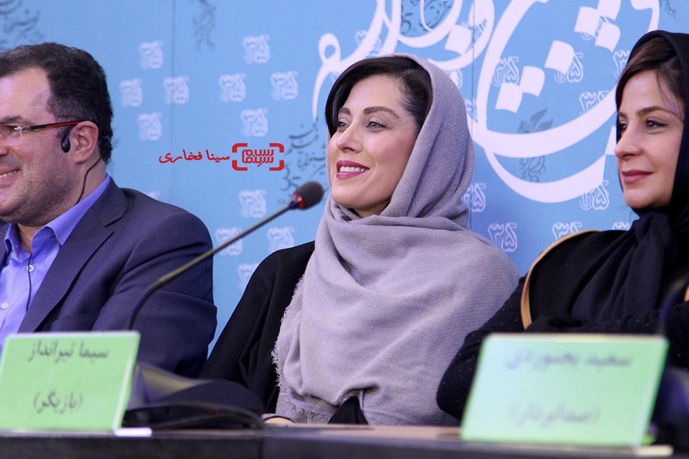 مهتاب کرامتی در نشست فیلم «ماجان» در سی و پنجمین جشنواره فیلم فجر