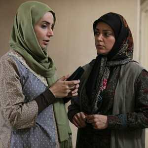 آرام چراغی و شبنم قلی خانی در سریال «آنام»