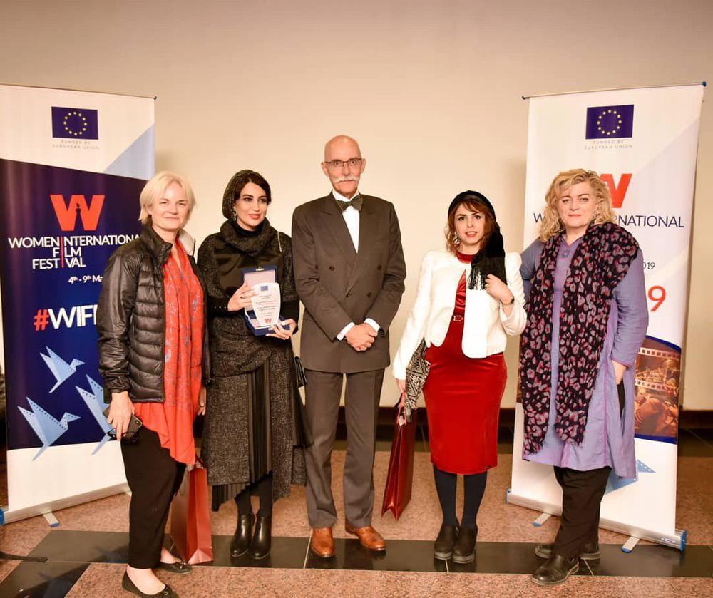 نسیم فروغ در جشنواره بین المللی فیلم زن برای فیلم کوتاه «دژاوو»