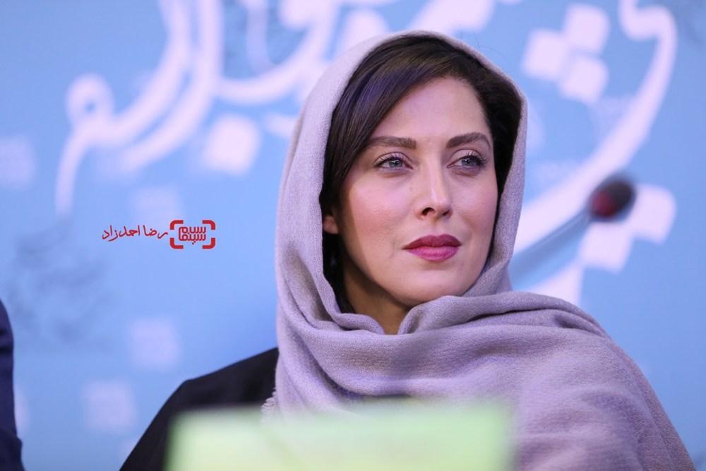 مهتاب کرامتی در نشست «ماجان» در سی و پنجمین جشنواره فیلم فجر