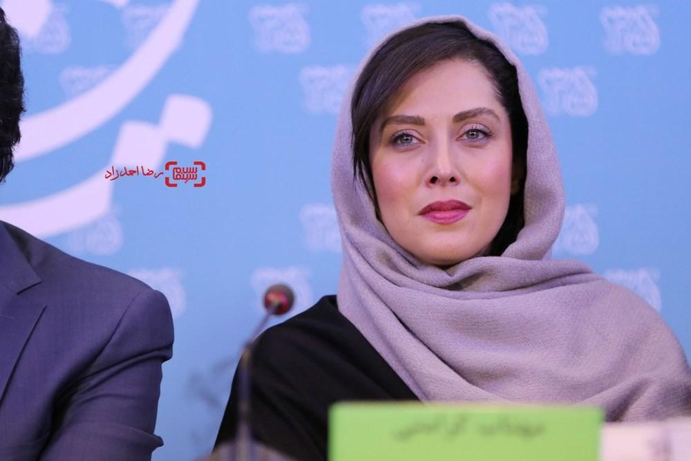 مهتاب کرامتی در نشست فیلم «ماجان» در جشنواره فیلم فجر35