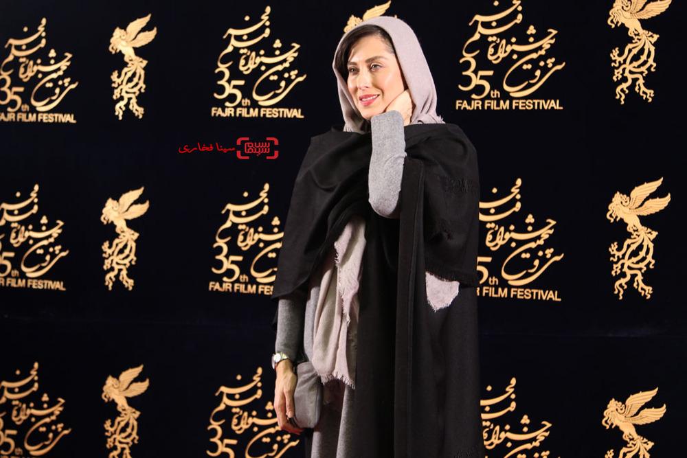 مهتاب کرامتی در اکران «ماجان» در جشنواره فیلم فجر35