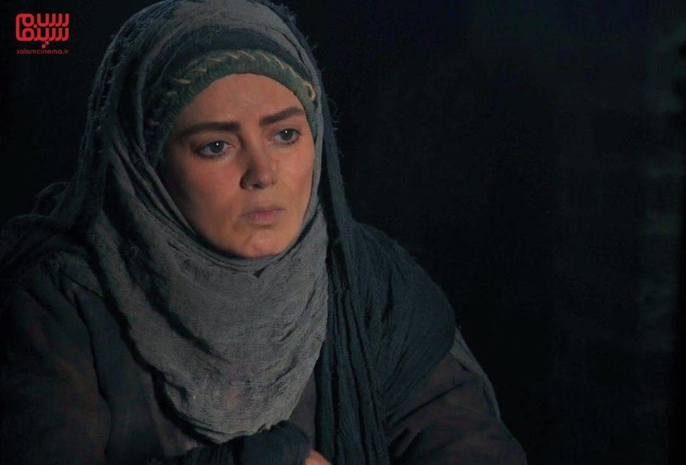 پانته آ سیروس در نمایی از سریال «بانوی سردار»