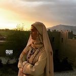 پانته آ سیروس در پشت صحنه سریال «بانوی سردار»