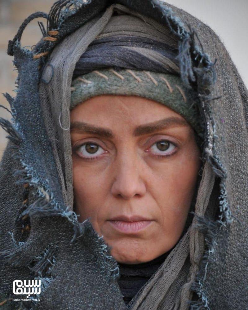گریم پانته آ سیروس در سریال «بانوی سردار»