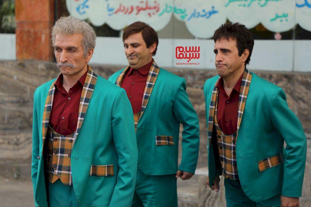 علی فروتن، محمد مسلمی و حمید گلی در سریال تلویزیونی «دوقلوها»