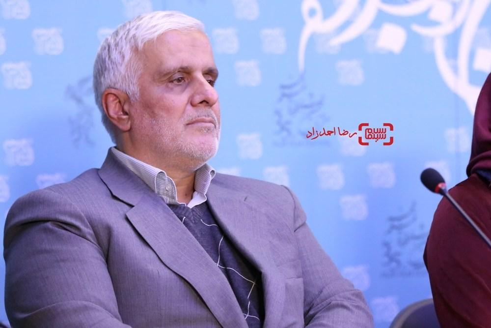 سعید سعدی در نشست فیلم «دریاچه ماهی» در سی و پنجمین جشنواره فیلم فجر