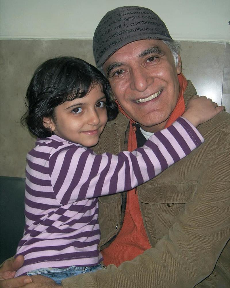 کیمیا حسینی و محمود کلاری در پشت صحنه فیلم «جدایی نادر از سیمین»