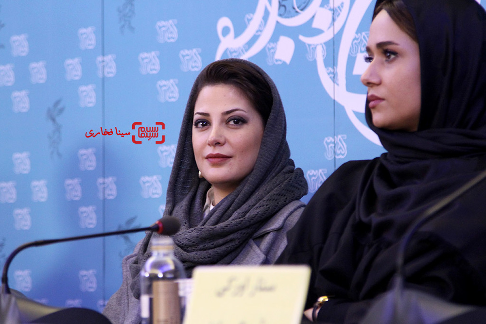 نشست «ویلایی ها» در جشنواره فجر35 با حضور طناز طباطبایی