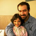 کیمیا حسینی و شهاب حسینی در پشت صحنه فیلم «جدایی نادر از سیمین»